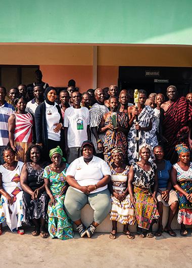 Actions en faveur de l'éducation au Ghana