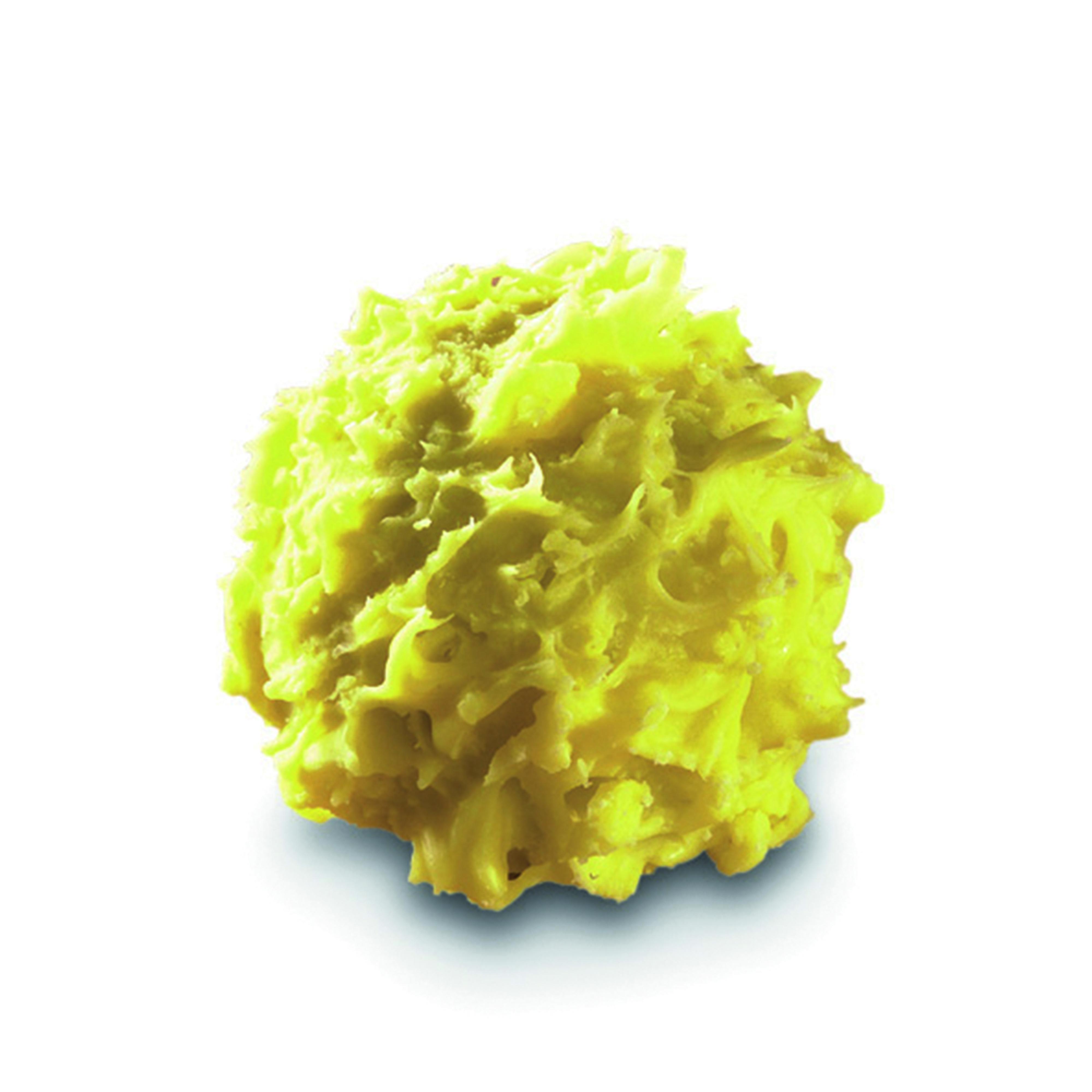 CHARDON MIRABELLE - Chardon à l'eau-de-vie de Mirabelle vieillie (60°), enrobée de décor jaune pour un mélange aux notes fruitées.