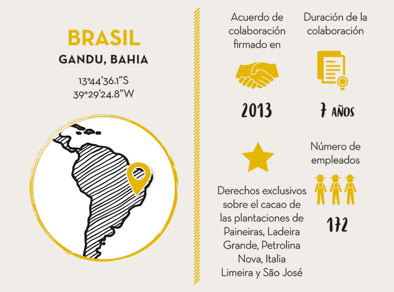 M. LIBÂNIO AGRÍCOLA S.A, COLABORADOR CACAO BRASIL - LIVE LONG VALRHONA
