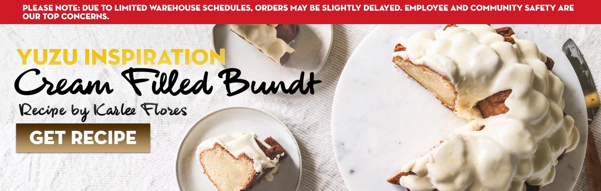 YUZU BUNDT CAKE RECIPE