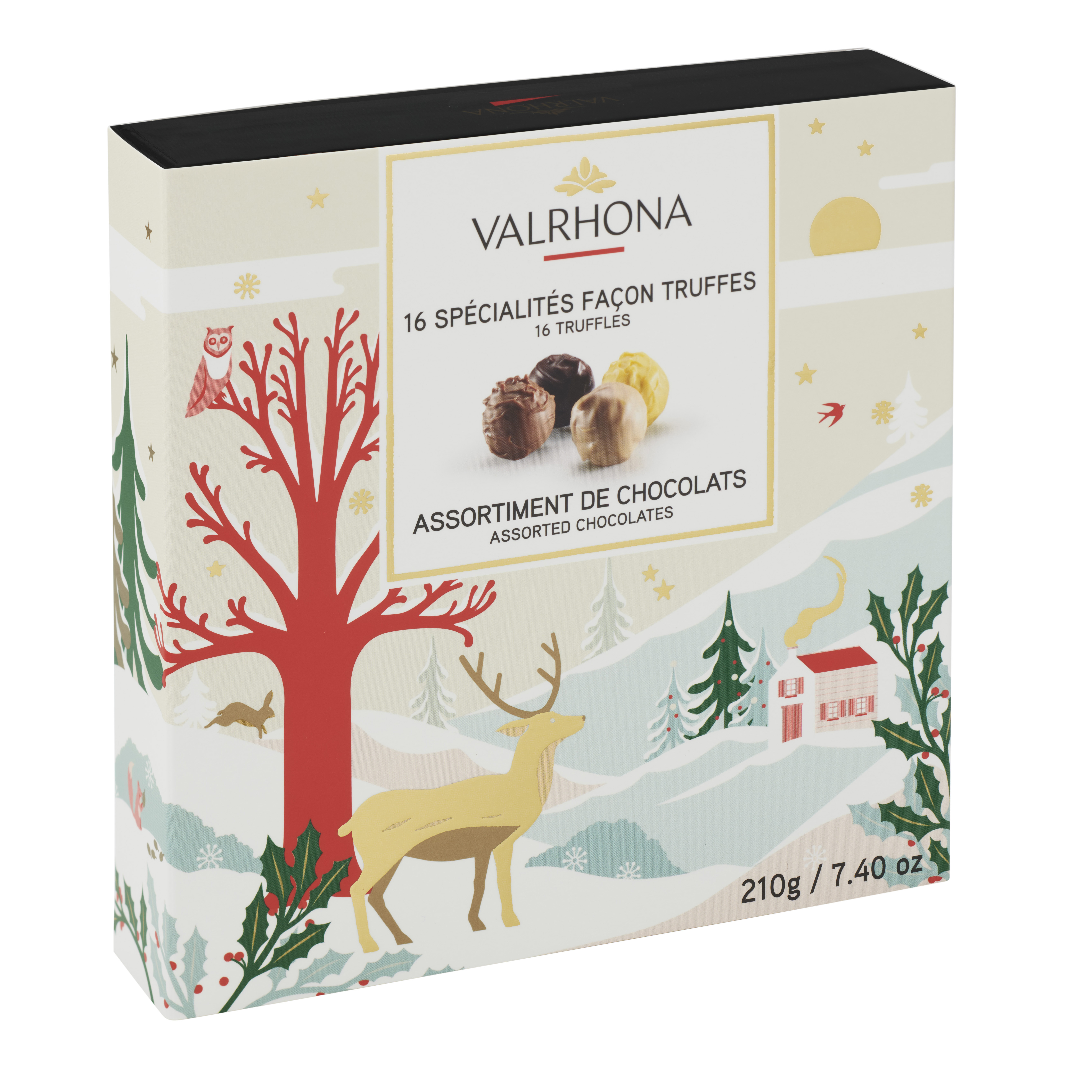 TRUFFLES CHRISTMAS GIFT BOX