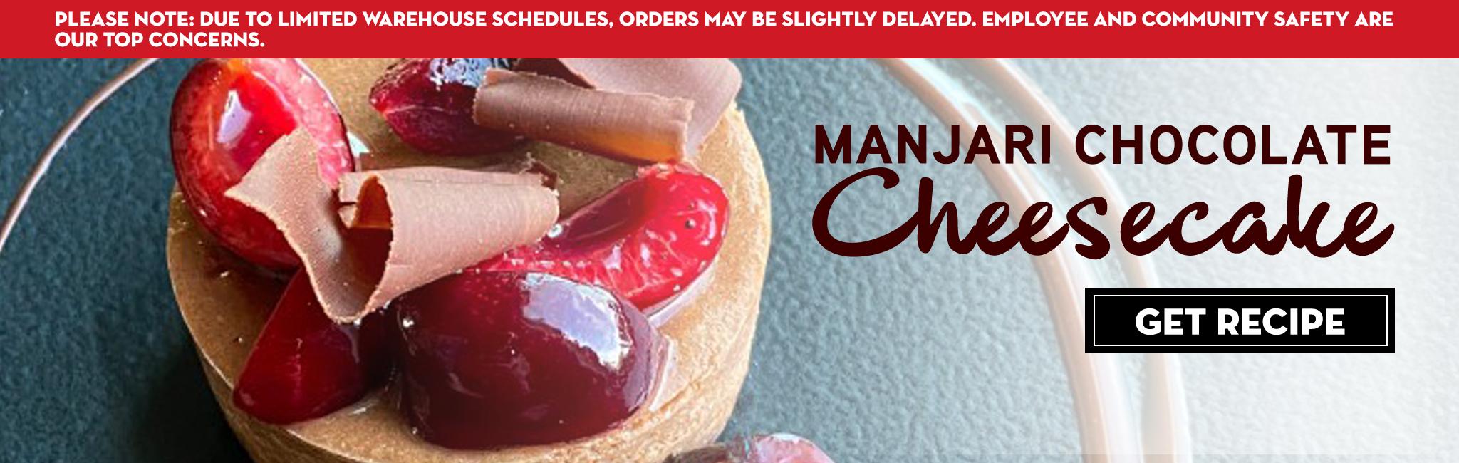 MANJARI CHOCOLATE CHEESECAKE RECIPE