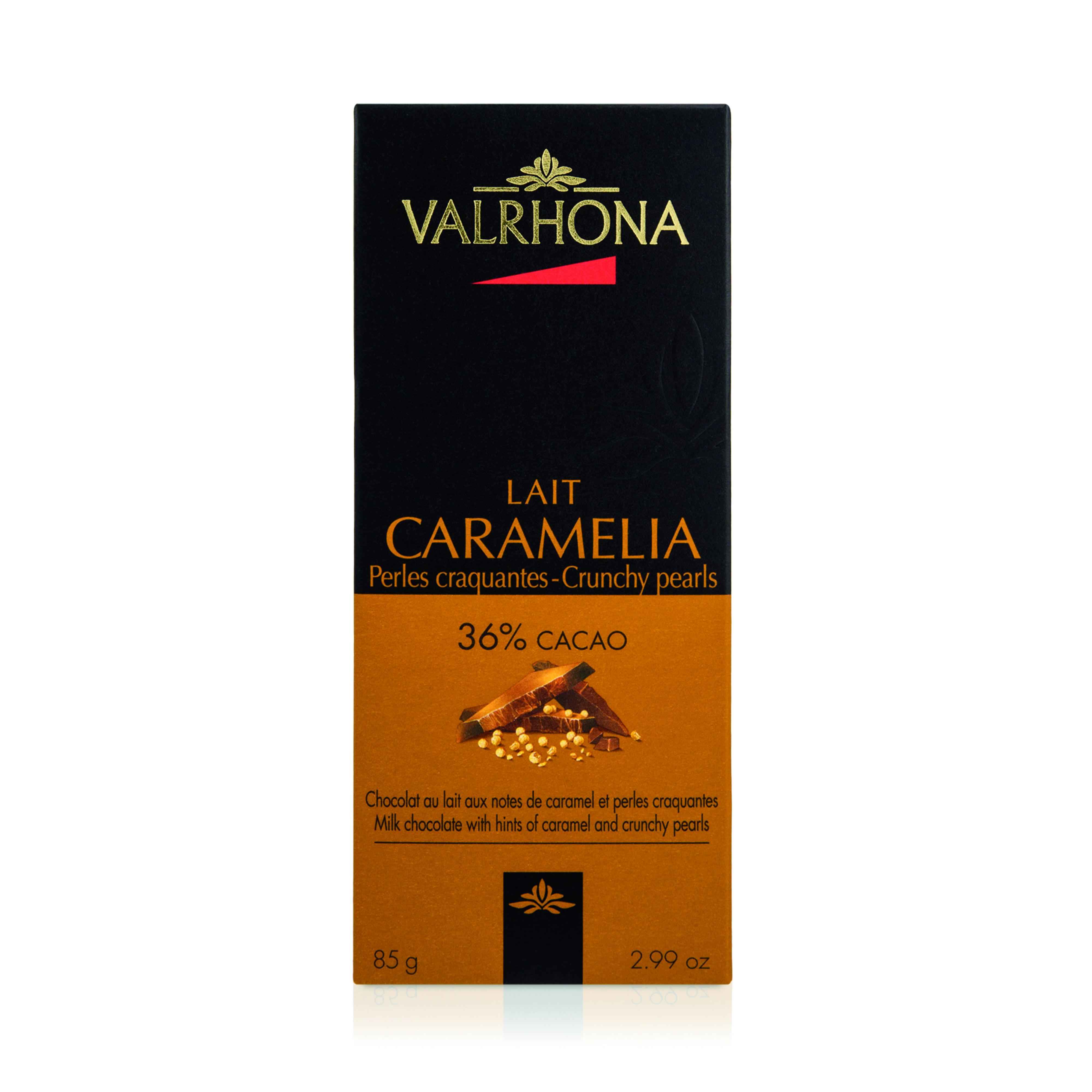 TABLETTE CARAMELIA 36% PERLE CRAQUANTE - Assemblage de Grands Crus