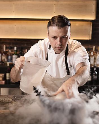 Chef Rory McDonald