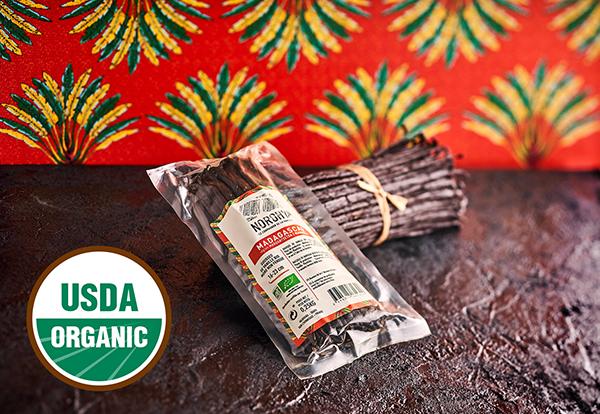 USDA Organic Vanilla Beans