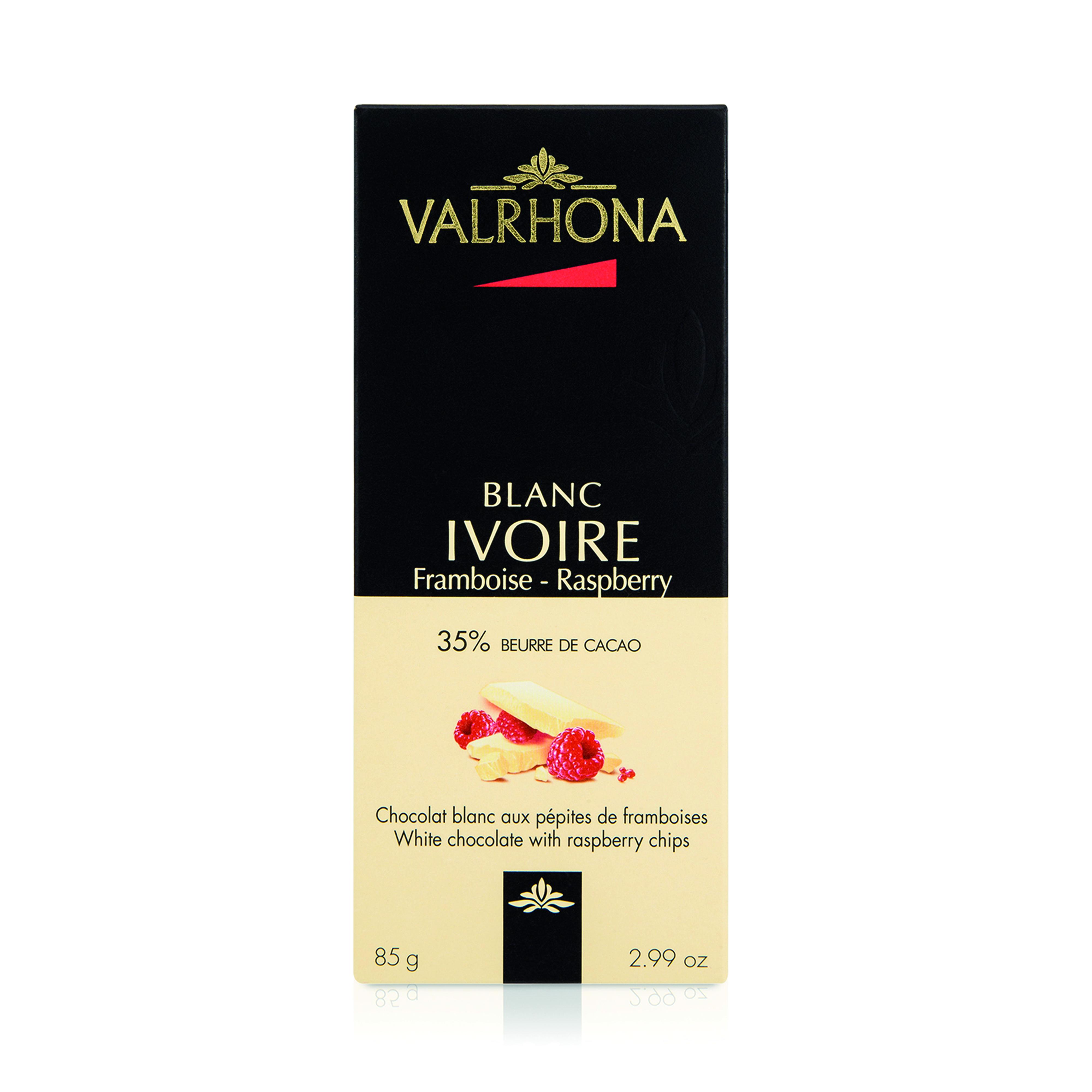 TABLETTE IVOIRE FRAMBOISE