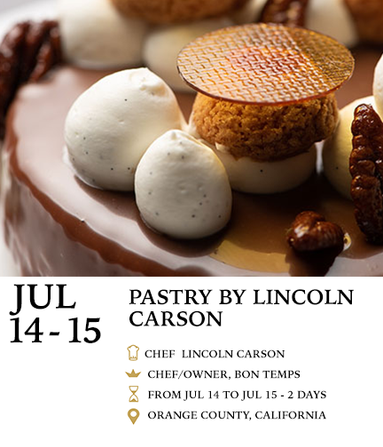 Sweet and Savory Pastry Class taught by CHef Lincoln Carson