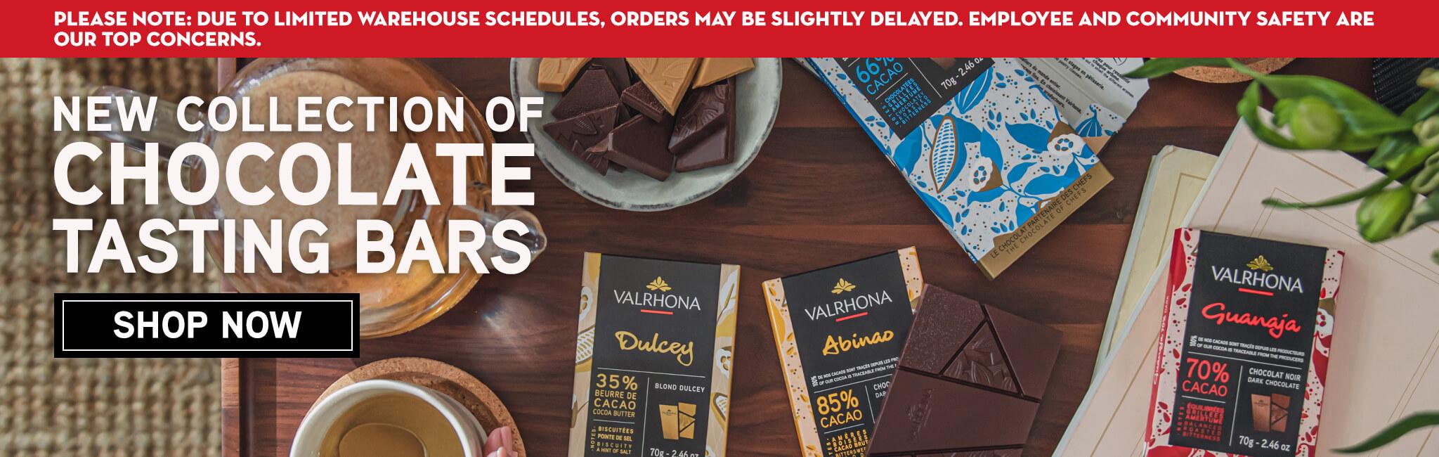 SHOP NEW CHOCOLATE TASTING BARS