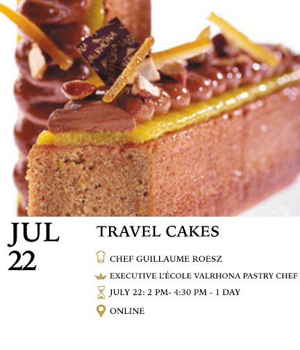 Online Travel Cake Pastry Class
