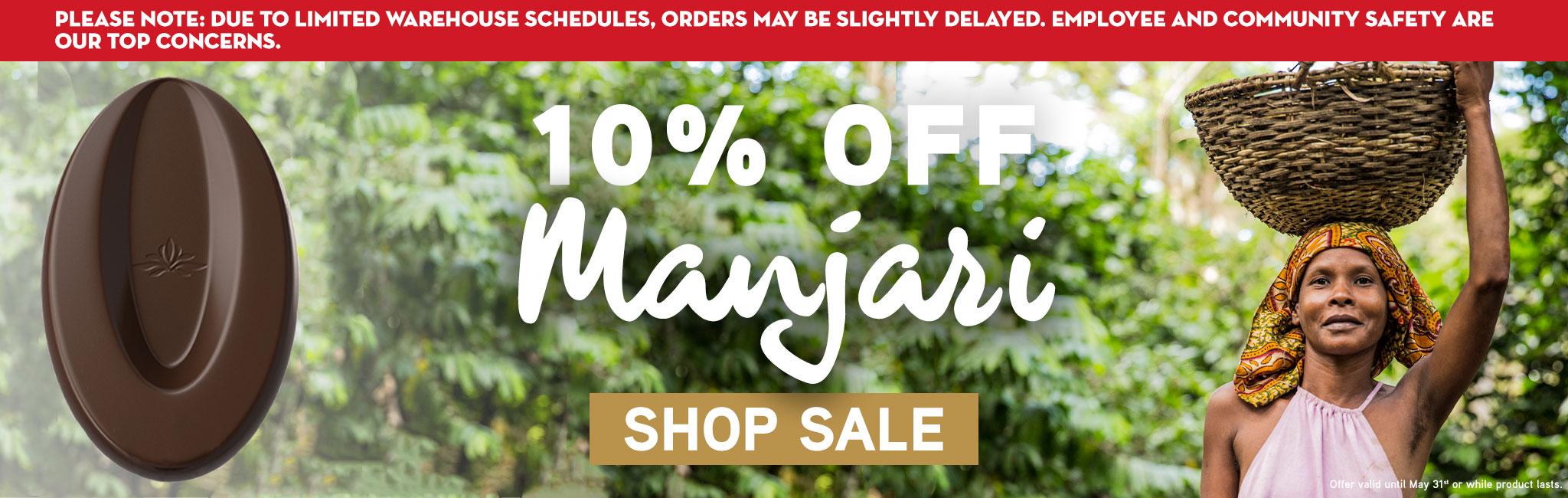 MANJARI DARK CHOCOLATE 10% OFF